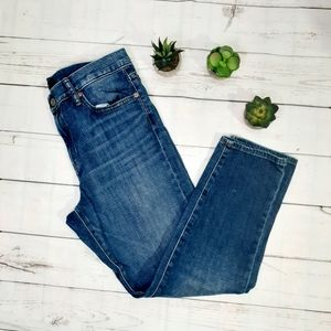UNIQLO High Rise Ankle Jeans Size 28